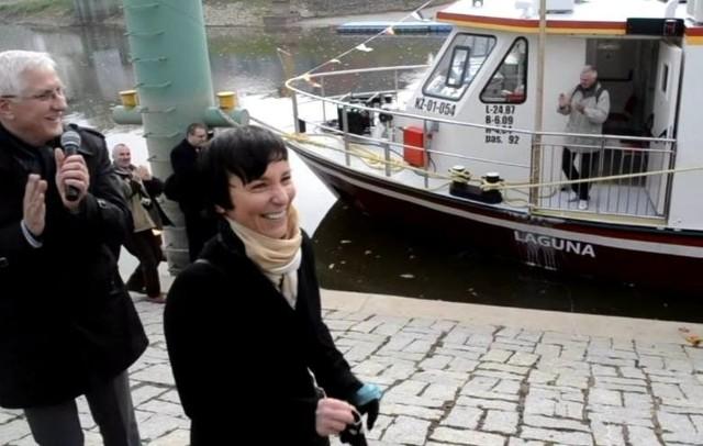 Chrzciny statku Laguna odbyły się w nowosolskim porcie w 2013 roku. Matką chrzestną została Beata Kulczycka. ówczesnym prezydentem miasta był Wadim Tyszkiewicz.
