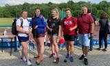 Świetny start zawodniczek KKL Kielce w Stalowej Woli. Rzut młotem wygrała Katarzyna Furmanek, druga była Marika Kaczmarek