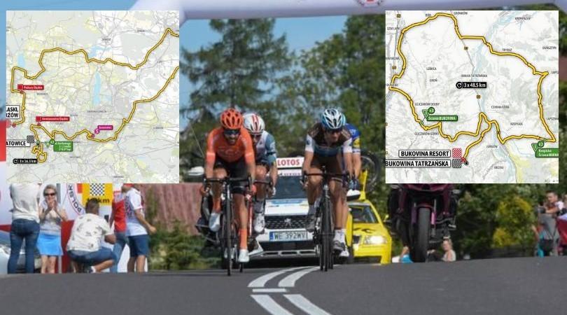 Tour de Pologne: mapy, program, wyniki