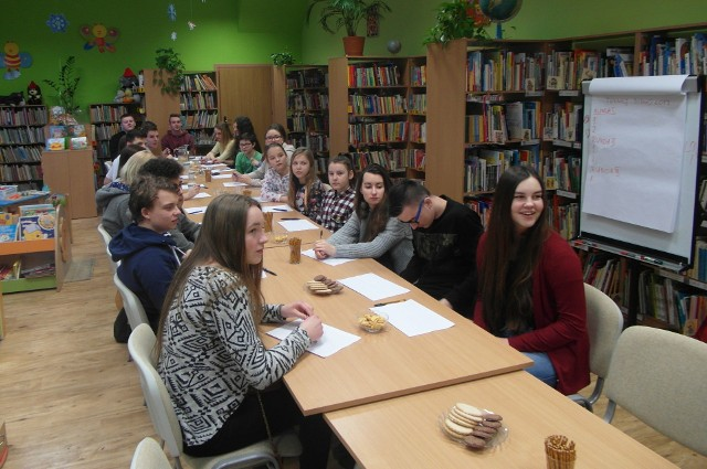 Z inicjatywy MRG w Barcinie w ubiegłym tygodniu w bibliotece zorganizowano pierwszy turniej bingo