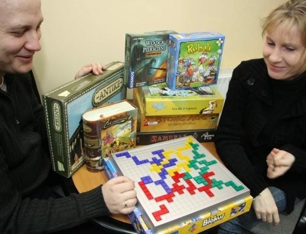 - Na chętnych będzie czekało ponad 100 gier, a wśród nich Blokus - zapowiadają Beata i Krzysztof Olszewscy.