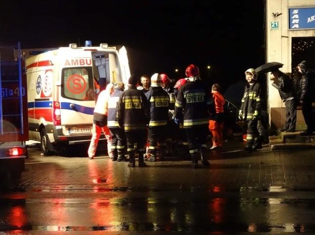 Kolejny wypadek w Kotlinie. Zderzenie dwóch aut. Trzy osoby w szpitalu