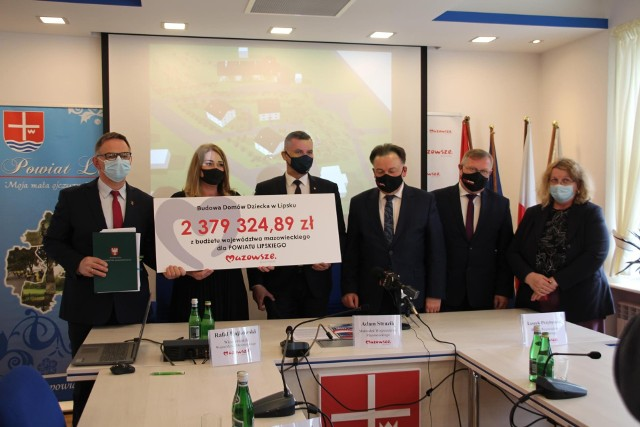 Umowa na dofinansowanie została podpisana w poniedziałek, 26 kwietnia, w Starostwie Powiatowym w Lipsku.