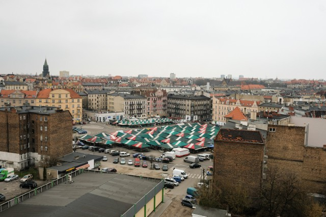 Na czas modernizacji rynku Łazarskiego targowisko ma być przeniesione na parking przy ulicy Głogowskiej