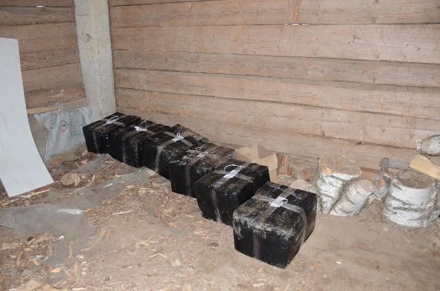Przemyt dronem nielegalnych papierosów z Białorusi