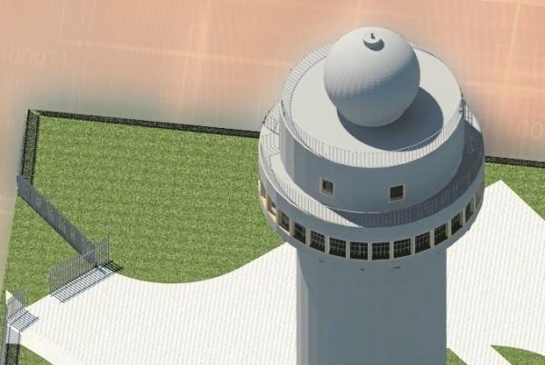Tak będzie wyglądał radar na Górze św. Anny. Okoliczni mieszkańcy obawiają się, że z jego powodu będą nieustanni wystawieni na promieniowanie elektromagnetyczne.