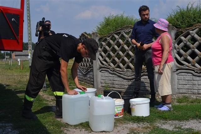 Brak wody w Koniecpolu