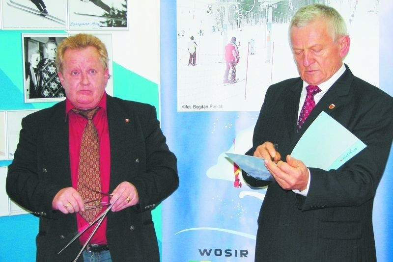 Wojciech Fortuna – przed 40. laty złoty medalista w skokach narciarskich, przekazał ośrodkowi swoje pamiątki. Muzeum, to jedna z atrakcji Szelmentu.