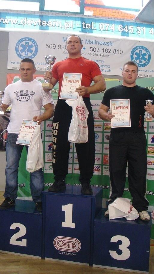 Artur Tumiel stanął na najwyższym podium
