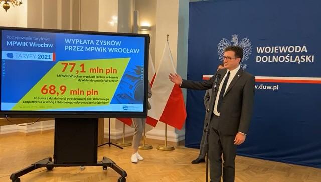 Prezes Wód Polskich Przemysław Daca podkreślał, że podwyżki cen wody i ścieków nie mogą być dla ratusza biznesem