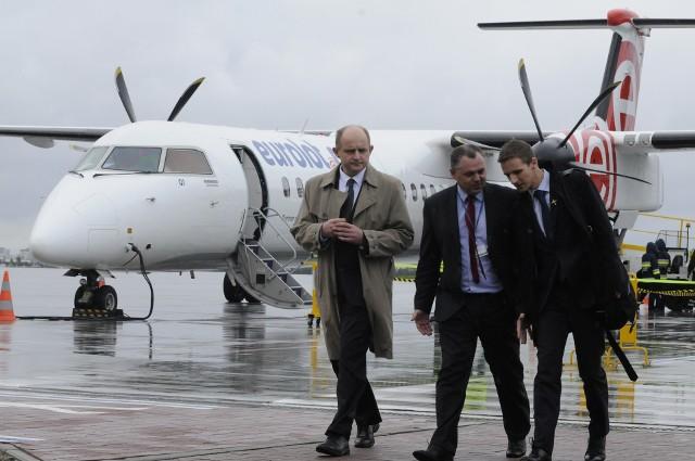Eurolot był ostatnim przewoźnikiem, który obsługiwał rejsowe loty z Bydgoszczy do Warszawy.