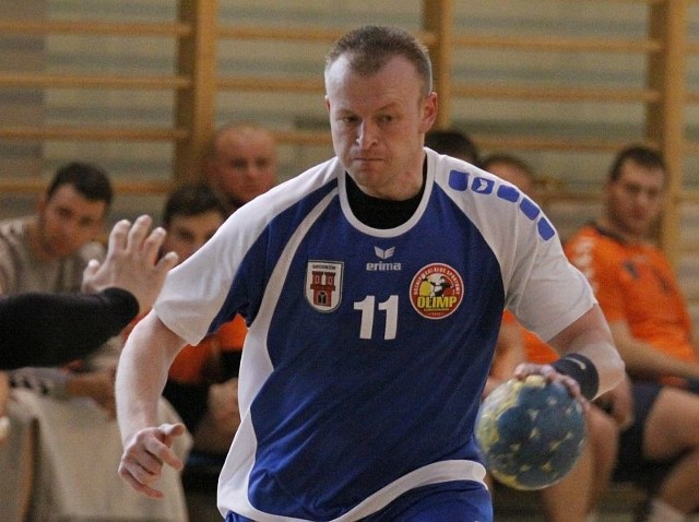 Rozgrywający Olimpu Łukasz Gradowski