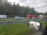 Karambol na autostradzie A4 w Mysłowicach Zderzyły się 4 samochody