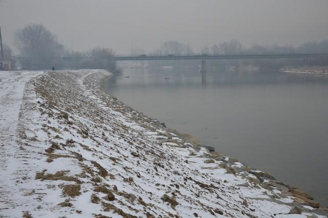 Brzeg Dunajca zabezpieczono na odcinku 550 metrów