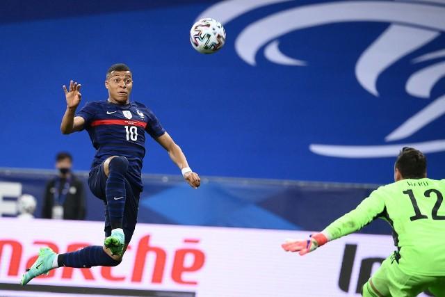 Francuz Kylian Mbappe ciągle czeka na swojego pierwszego gola w Euro 2020