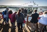Tłumy podróżowały statkiem, szynobusem i wąskotorówką w regionie