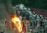 Gorąco na trybunach, emocje, race - derby Krakowa na zdjęciach [GALERIA]