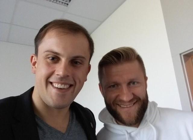 Łukasz Stupka to znana postać w środowisku piłkarskim. Obok Jakub Błaszczykowski