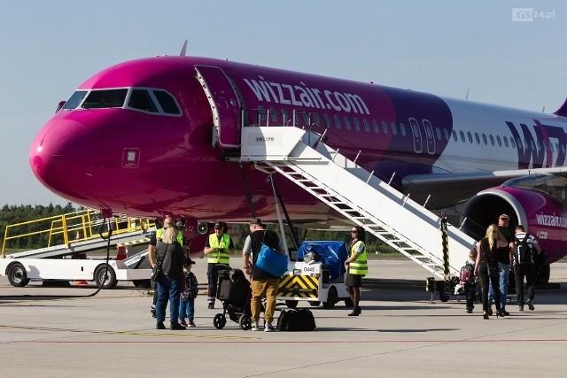 Samolot na lotnisku w Goleniowie