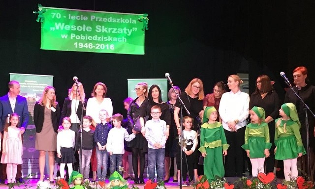 """W Ośrodku Kultury w Pobiedziskach odbyła się uroczysta gala z okazji 70-lecia Przedszkola """"Wesołe Skrzaty"""""""
