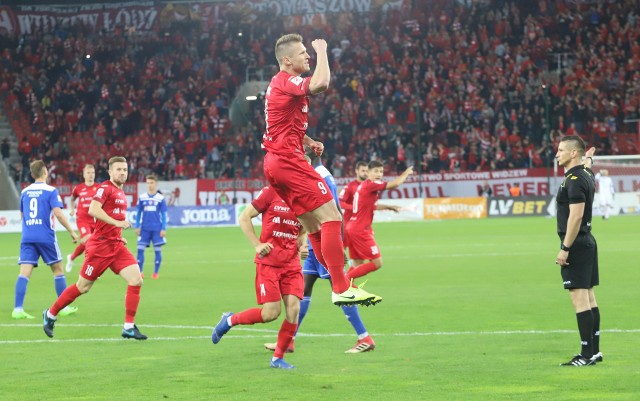 Ostatniego karnego w Łodzi w lidze Marcin Robak strzelił Pogoni