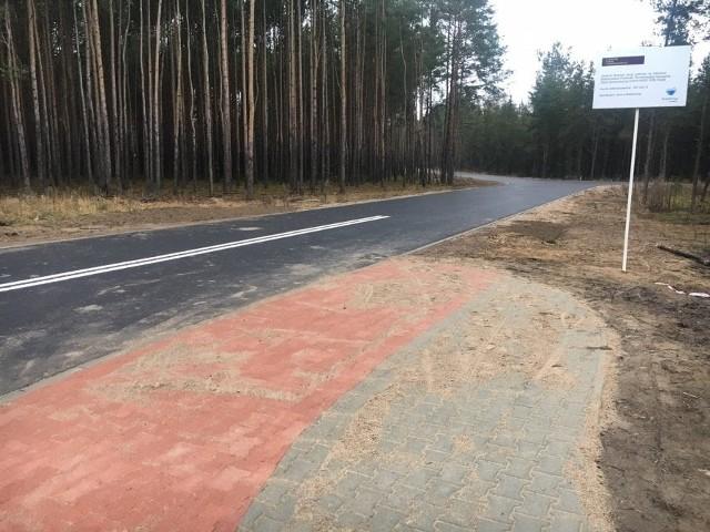 Nowa droga przebiega przez teren Specjalnej Strefy Ekonomicznej, utworzonej cztery lata temu.