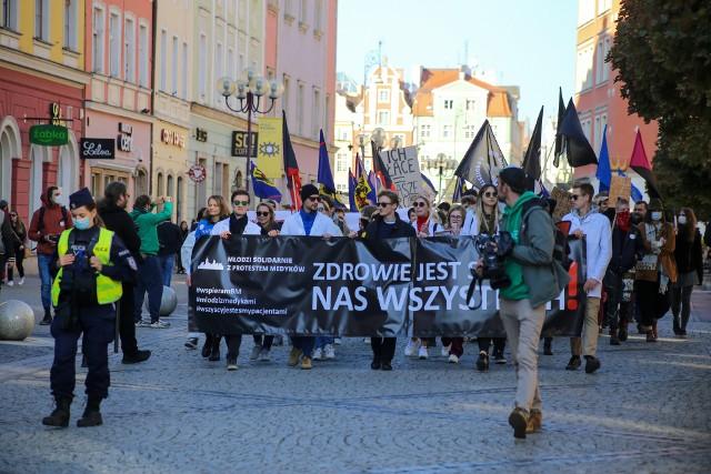 Białe Miasteczko na wrocławskim Rynku 9.10.2021