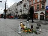 W Katowicach płoną znicze dla Dominika Koszowskiego, zamordowanego piłkarza GKS Katowice ZDJĘCIA