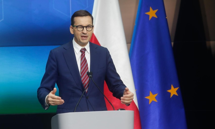 Premier Mateusz Morawiecki spotkał się z premierem Słowacji....