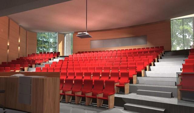 Tak będzie wyglądać Uniwersyteckie Centrum Edukacji Artystycznej przy ulicy Krakowskiej w Kielcach