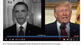 Trump i Obama. Porównanie oświadczeń prezydentów USA po śmierci przywódcy ISIS Abu Bakra al-Baghdadiego i lidera Al-Kaidy Osamy bin Ladena