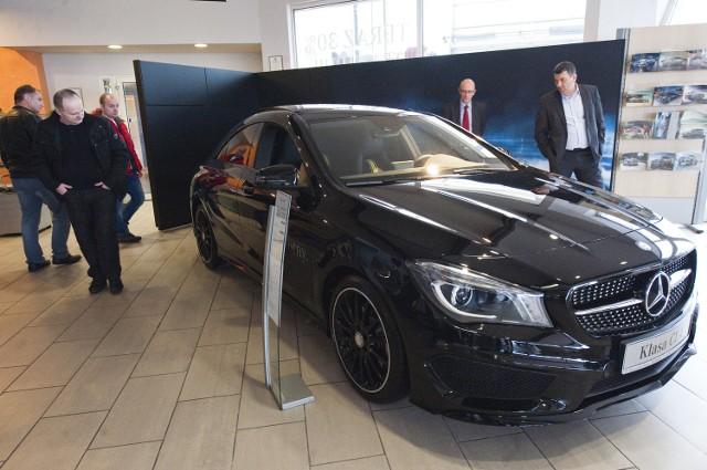 Premiera Mercedesa CLA w firmie Mojsiuk w Starych BielicachMiniony weekend był światową premierą nowego mercedesa, takiego auta nie mogło więc zabraknąć również u nas.