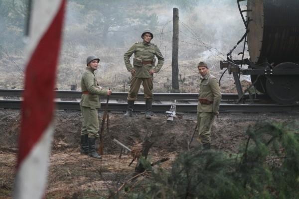 Kadr z filmu: Tajemnice Westerplatte