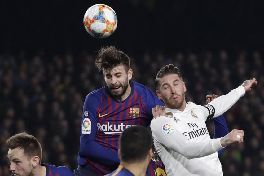 Puchar Króla Real Barcelona 03 Sergio Ramos Do Kolegów