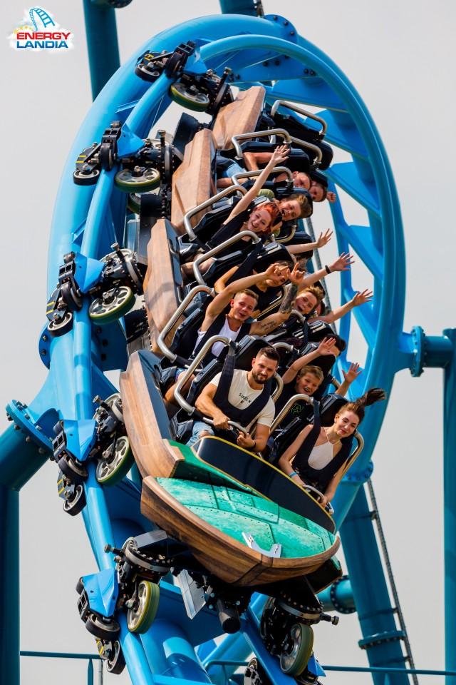 Roller coaster Abyssus to najlepsza nowość w parku rozrywki w Europie