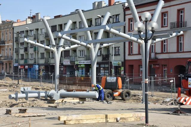Trwa budowa centrum przesiadkowego w Częstochowie