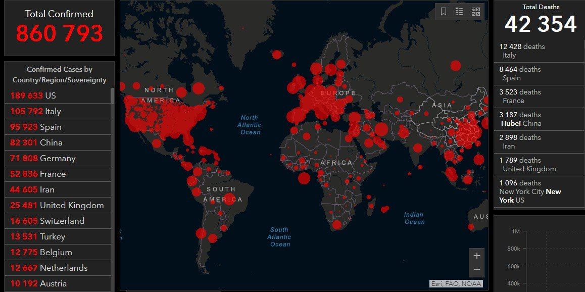 Coronavirus Disease Covid 19 Pandemic Daily Report Maps
