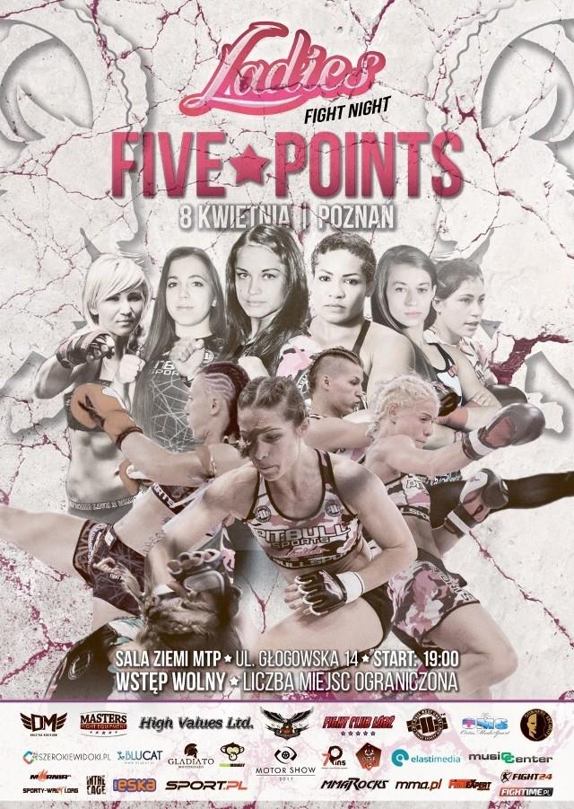 Tego jeszcze w Poznaniu nie było. Podczas sobotniej gali kibice zobaczą w akcji wyłącznie kobiety w pojedynkach MMA i K-1