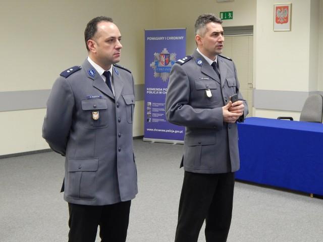 Michał Gamrat (po prawej)