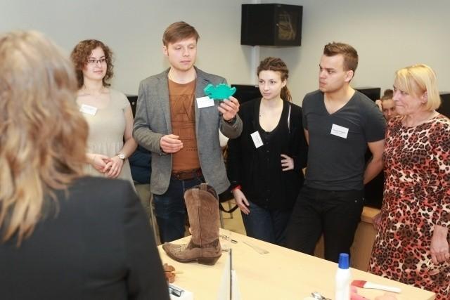Szkolenia nauczycieli z poznańskich gimnazjów w ramach projektu Design the Future.