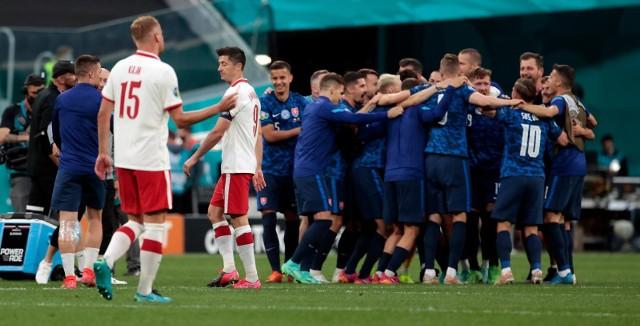 Polacy w meczu ze Słowakami zawiedli.