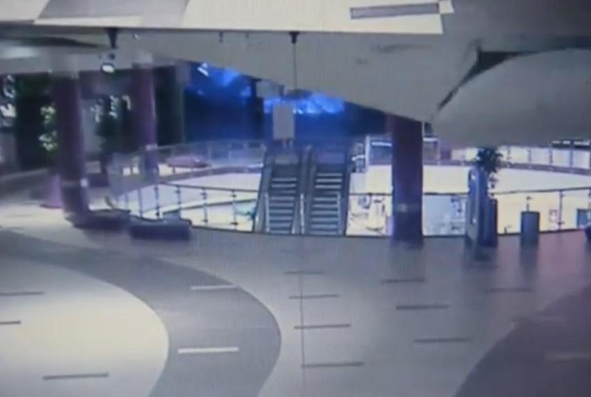Poznań City Center - zerwał się strop