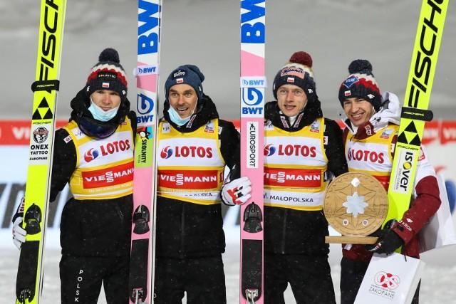 Polska drużyna w Oberstdorfie zdobyła brąz