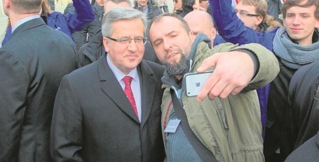 W niedzielę Bronisław Komorowski będzie walczył o głosy wyborców w Krakowie