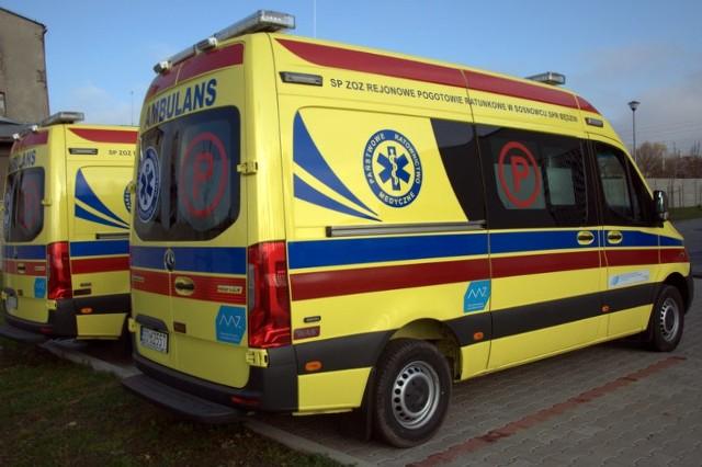 Cztery nowoczesne ambulanse trafią do ratowników medycznych RPR w Sosnowcu.