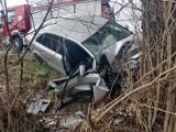 Wypadek w Białej Nyskiej. Pasażerka zginęła, 41-letni kierowca miał 4 promile. Powiedział, że nie wiedział, że jest pijany...