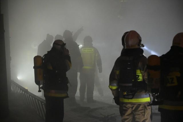 Tragiczny pożar w Grudziądzu. Zginęły dwie osoby