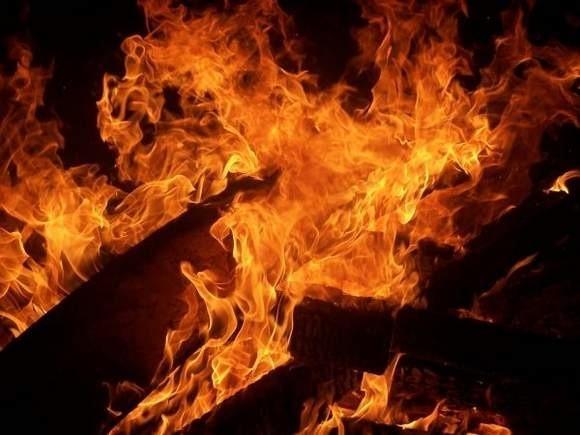Pożar wybuchł o godz. 23.21