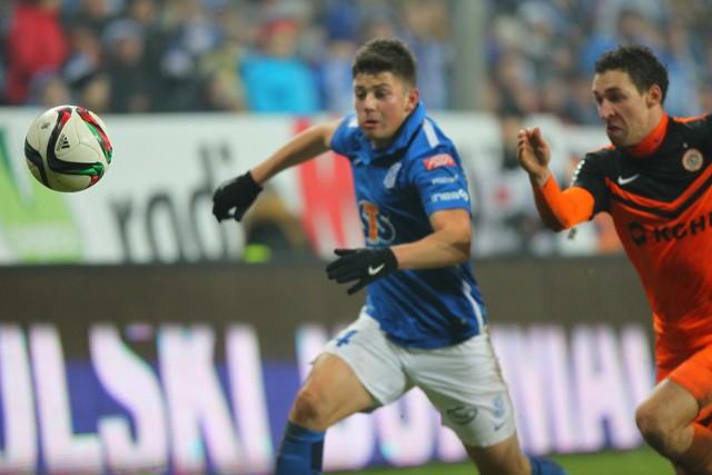 Dawid Kownacki zdobył jedną z bramek