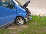 Policja analizuje wypadek naszej dziennikarki - Anny Karbowniczak. Kierowca nie hamował. Uderzenie było tak mocne, że pękła szyba w busie